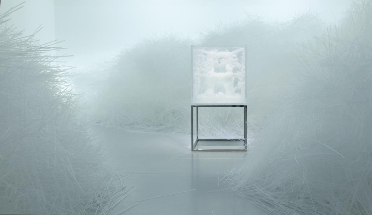 Le design cristallisé de Tokujin Yoshioka