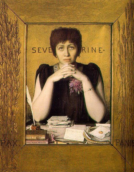 Louis_Welden_Hawkins_-_Mme._Séverine,_1895